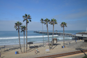 San Clemente Water temperature