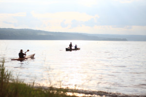 Cayuga Lake water temperature