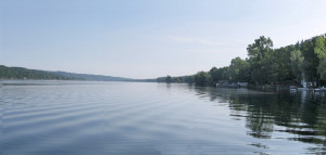 Keuka Lake water temperature