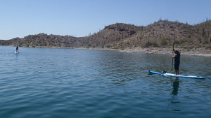 Lake Pleasant water temperature