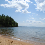 Sebago Lake water temperature