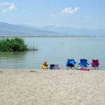 Utah Lake water temperature